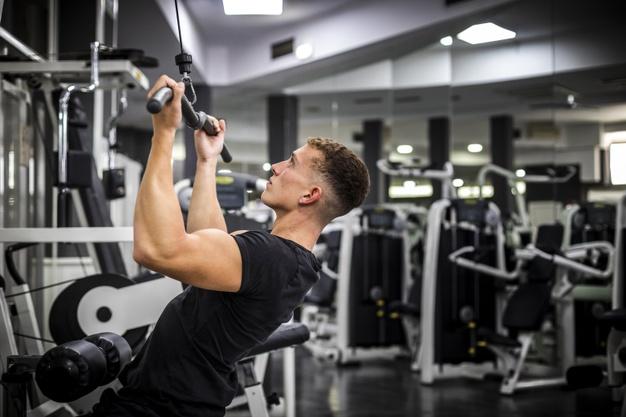 mand der har taget pre workout