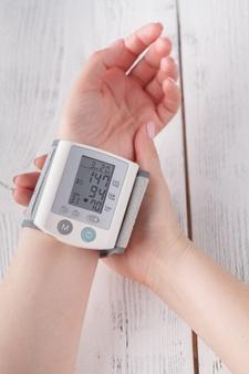 blodtryksmåler i hjemmet