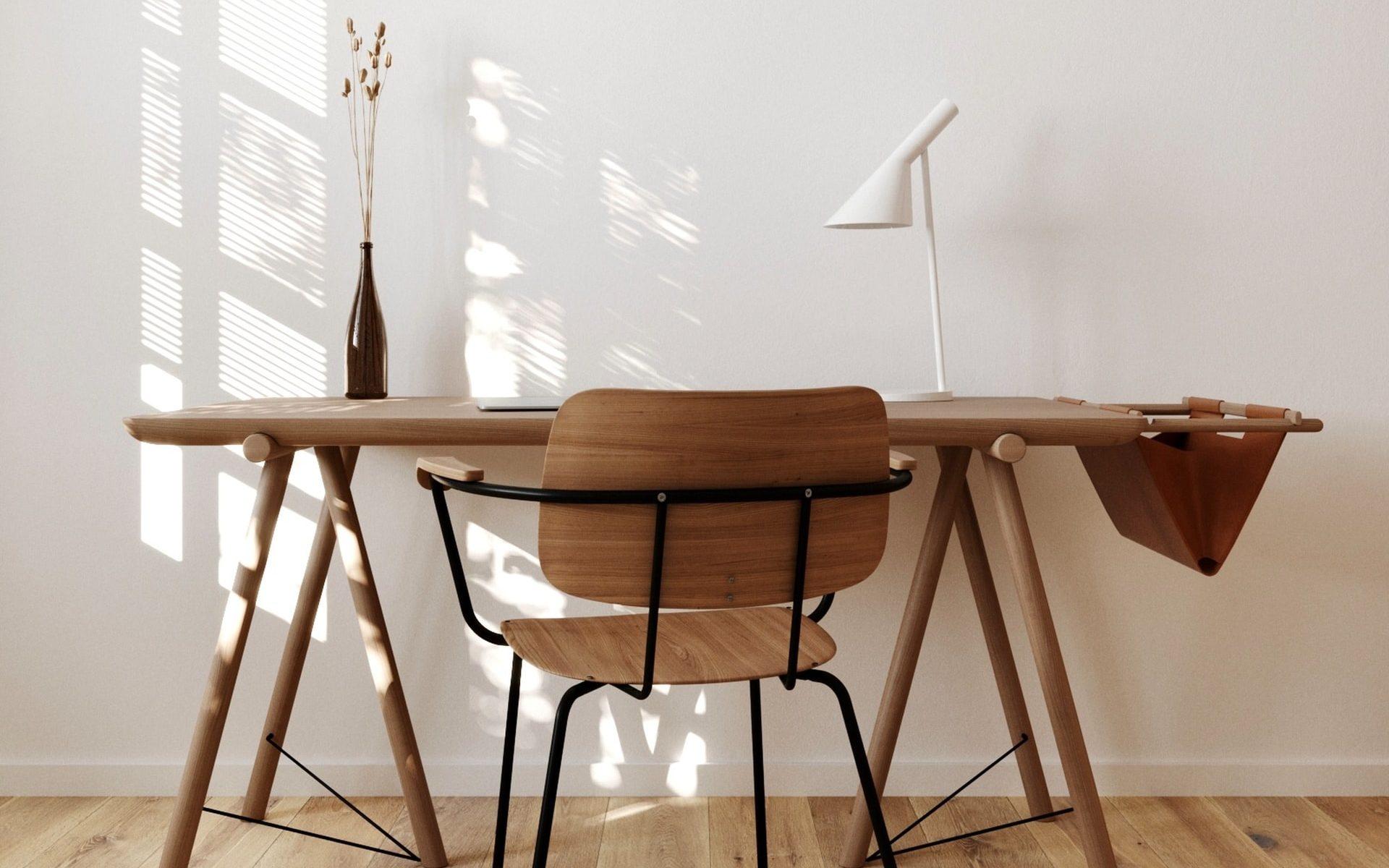 Indret med Hübsch møbler